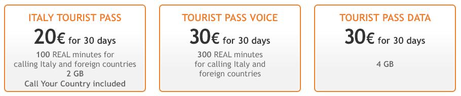 winde - Chip de celular en Italia para viajes
