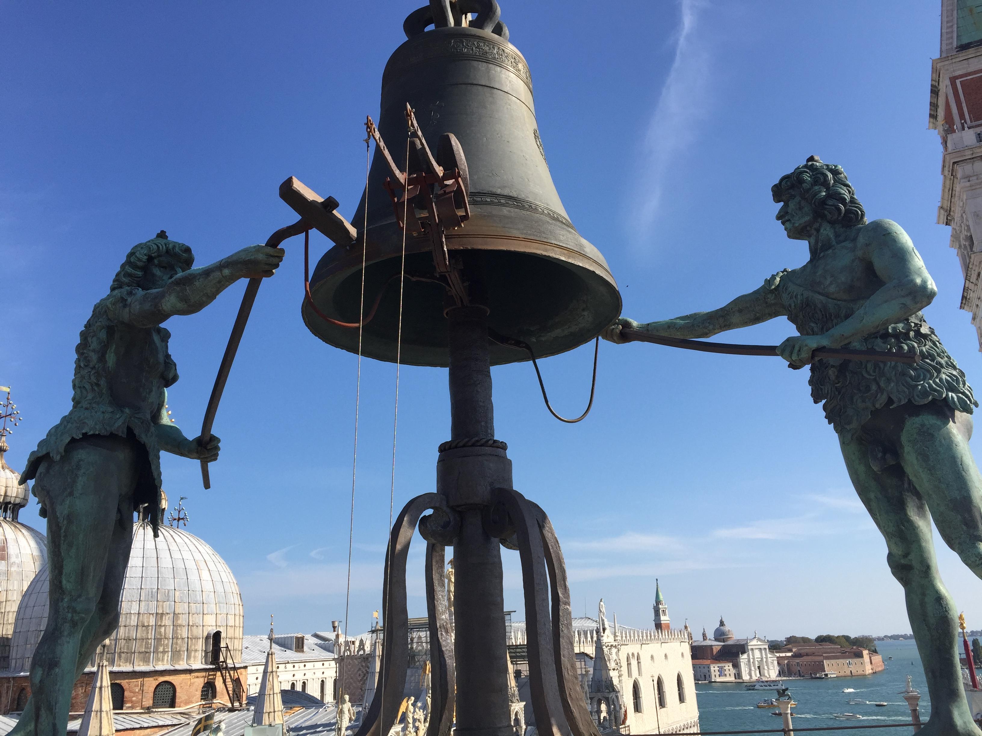 img 1557 - Subiendo al reloj astronómico de Venecia y Panoramica de la Piazza San Marcos