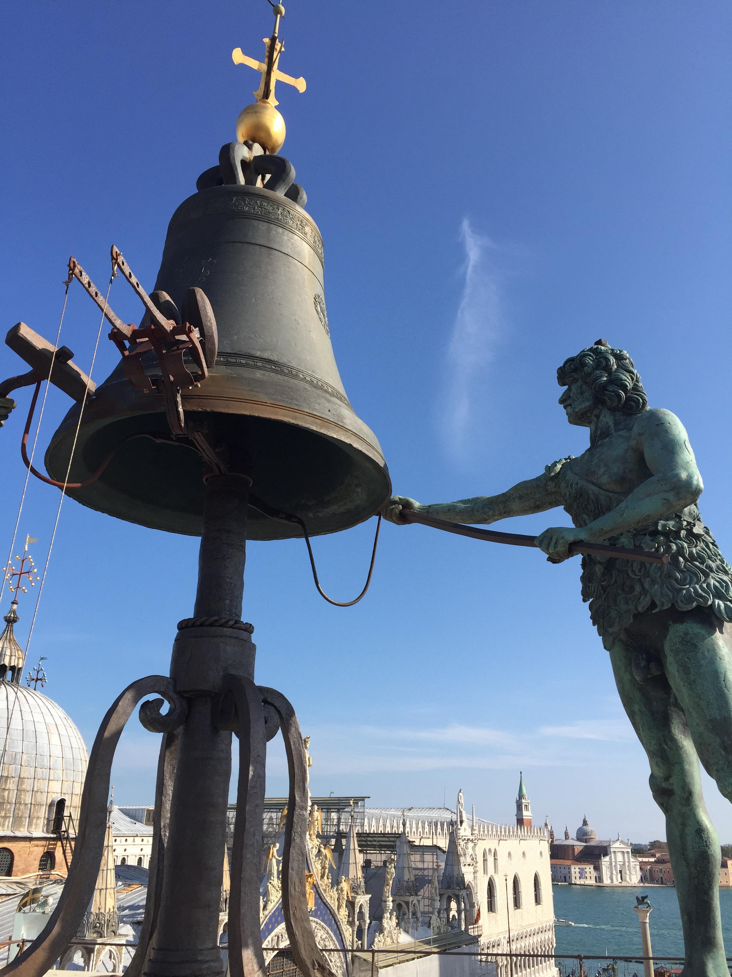 img 1567 - Subiendo al reloj astronómico de Venecia y Panoramica de la Piazza San Marcos