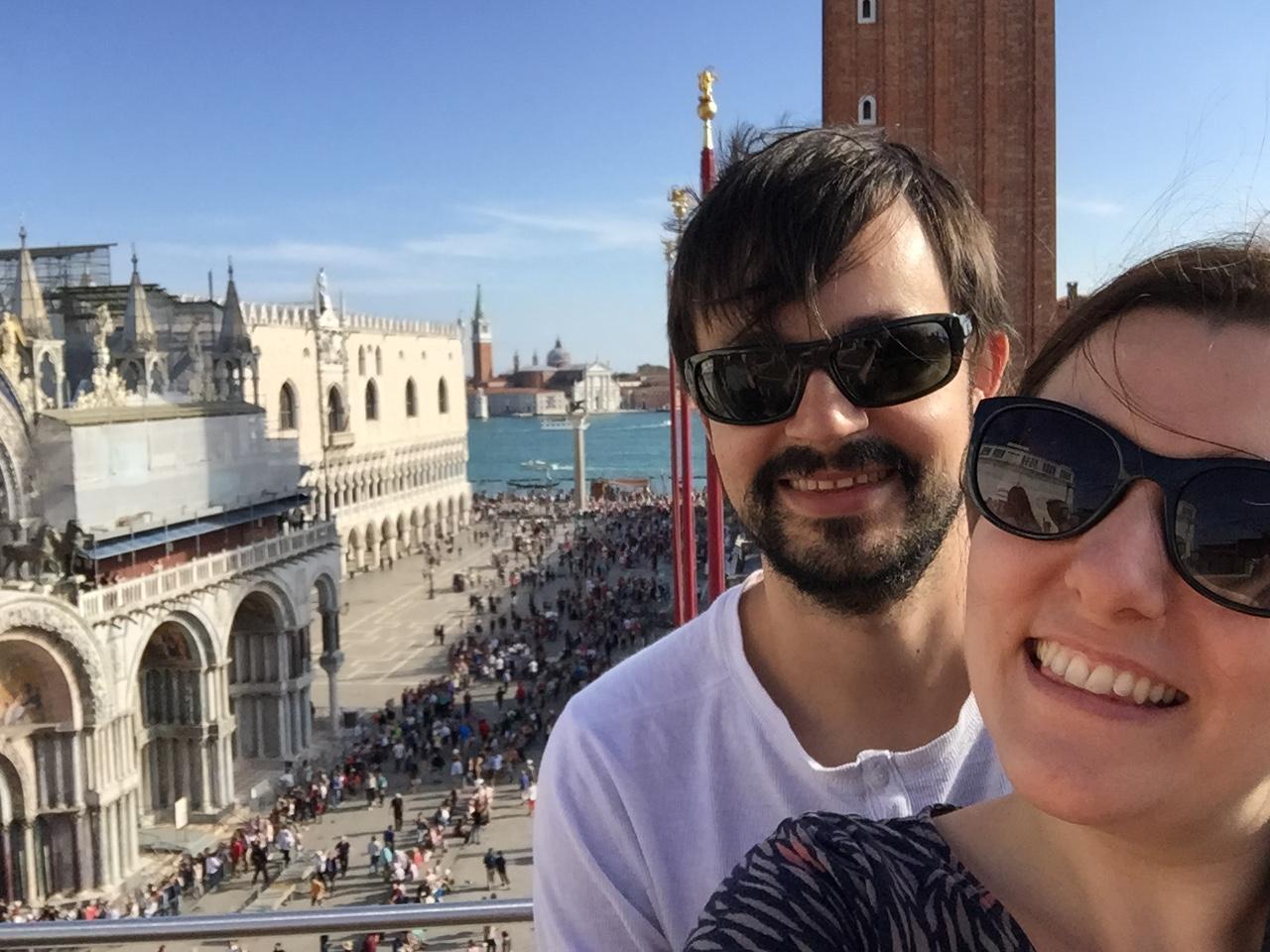 img 1577 - Subiendo al reloj astronómico de Venecia y Panoramica de la Piazza San Marcos