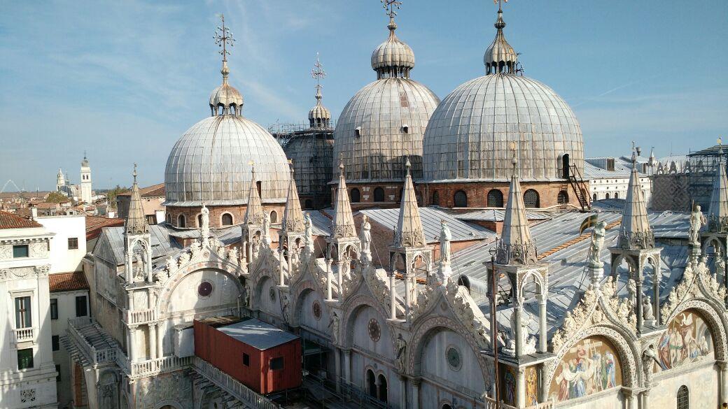 img 1654 - Subiendo al reloj astronómico de Venecia y Panoramica de la Piazza San Marcos