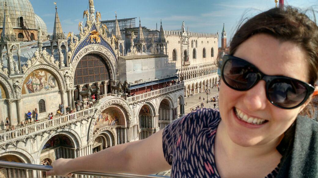img 1667 - Subiendo al reloj astronómico de Venecia y Panoramica de la Piazza San Marcos