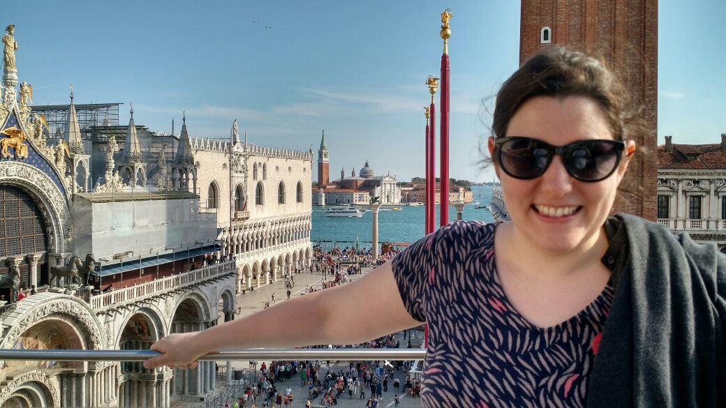 img 1675 - Subiendo al reloj astronómico de Venecia y Panoramica de la Piazza San Marcos