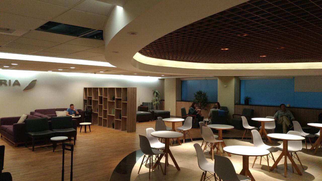 img 8254 - El Salon VIP de LATAM, Iberia y British en el aeropuerto de Ciudad de México
