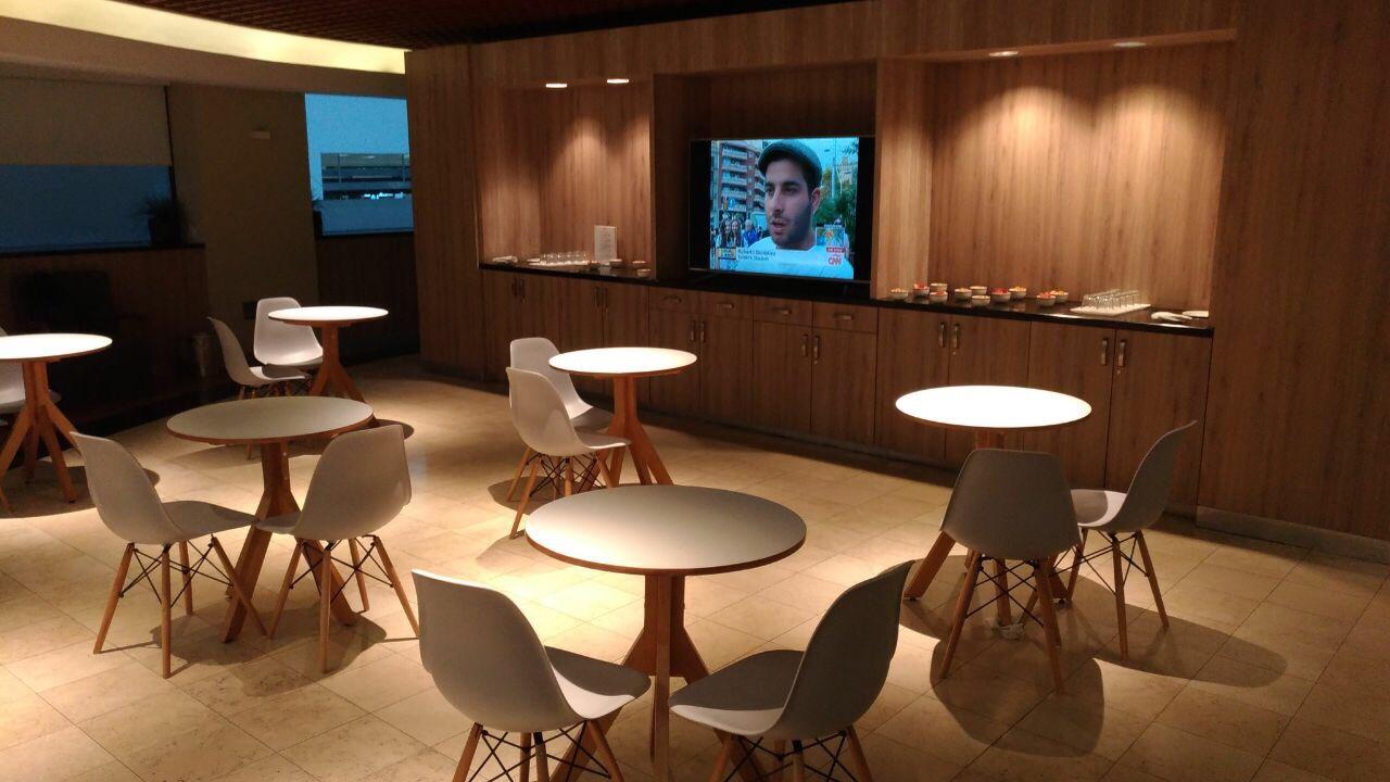 img 8255 - El Salon VIP de LATAM, Iberia y British en el aeropuerto de Ciudad de México